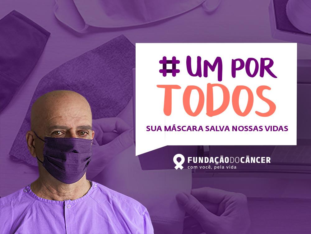 #UmPorTodos: ajude a Fundação do Câncer a proteger pacientes oncológicos em situação de vulnerabilidade social