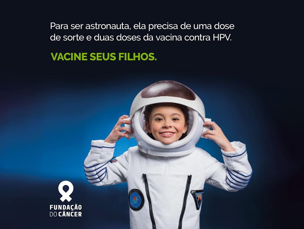 Fundação do Câncer faz campanha de prevenção ao HPV