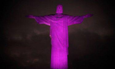 Outubro Rosa: O Monumento ao Cristo Redentor ganha iluminação cor de rosa como forma de conscientização para o combate ao câncer de mama ((Tomaz Silva/Agência Brasil)